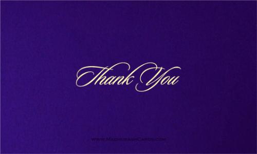 Thank you Cards - THANKYOU-204