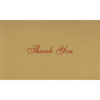 Thank you Cards - THANKYOU-205