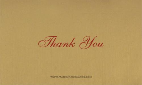 Thank you Cards - THANKYOU-205