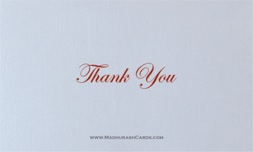 Thank you Cards - THANKYOU-206 - 2