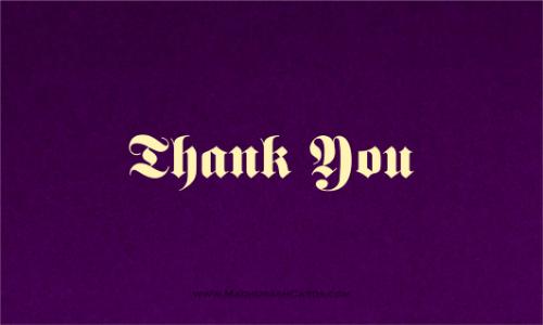 test Thank you Cards - THANKYOU-207