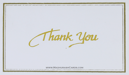 test Thank you Cards - THANKYOU-208