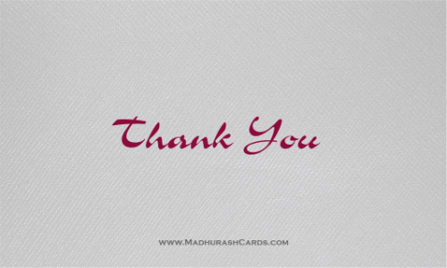 Thank you Cards - THANKYOU-215