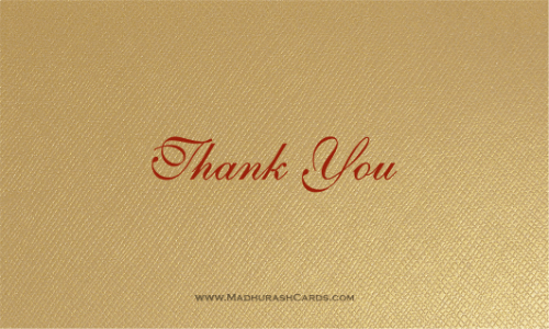 Thank you Cards - THANKYOU-216