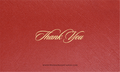 Thank you Cards - THANKYOU-217 - 2