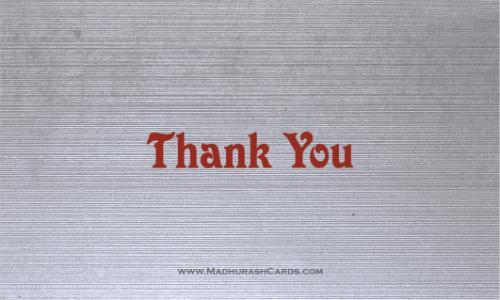 test Thank you Cards - THANKYOU-219