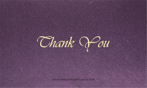 Thank you Cards - THANKYOU-220 - 2