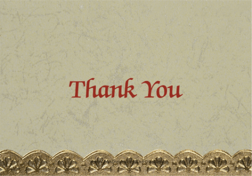 test Thank you Cards - THANKYOU-301