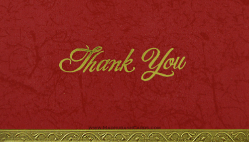 test Thank you Cards - THANKYOU-210