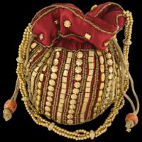 Potli Bags (Batwa Bags) - BB-Matuki Silk Batwa 201M