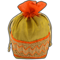 Potli Bags (Batwa Bags) - BB-Pyramid Batwa 301O