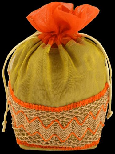 test Potli Bags (Batwa Bags) - BB-Pyramid Batwa 301O