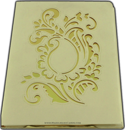 Hard Bound Wedding Cards - HBC-7401