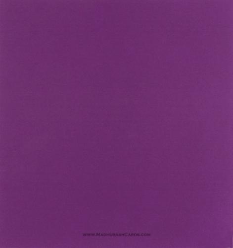 Satin Card Sheets - SCS-5541