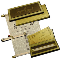 Boxed Scroll Cards - SC-5116