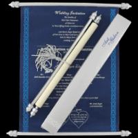 Scroll Wedding Invitations - SC-6051