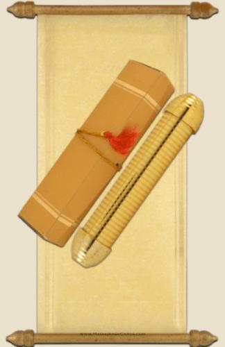 test Scroll Wedding Invitations - SC-5015