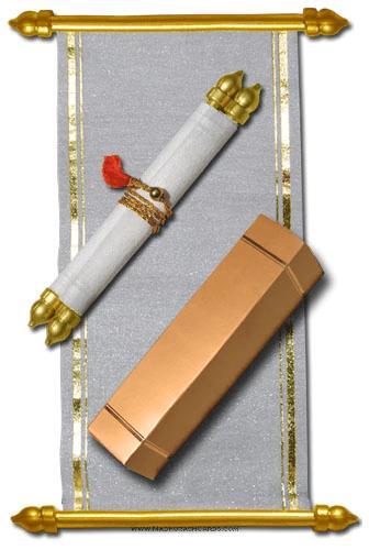 test Scroll Wedding Invitations - SC-5010