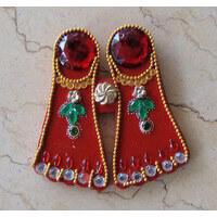 Traditional Gifts - TG-Lakshmi Charan Sticker