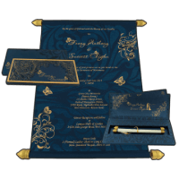 Boxed Scroll Cards - SC-6041B