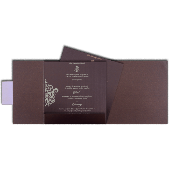 Hindu Wedding Invitations - HWC-14100 - 3