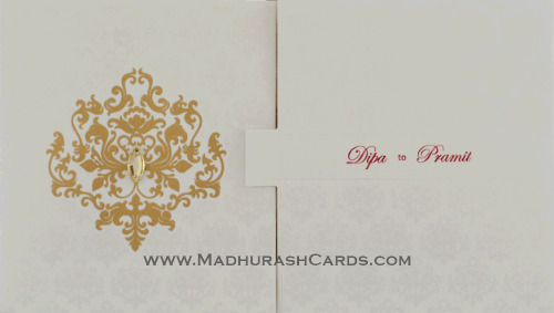 Muslim Wedding Cards - MWC-14194