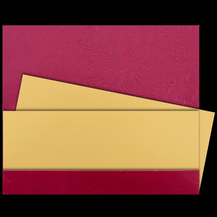 Hindu Wedding Cards - HWC-14101 - 3