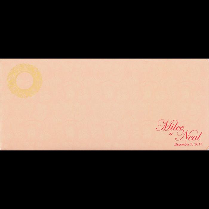 Hindu Wedding Cards - HWC-14101 - 4