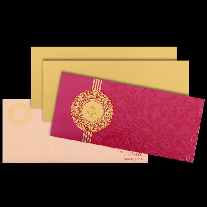 Hindu Wedding Cards - HWC-14101 - 5