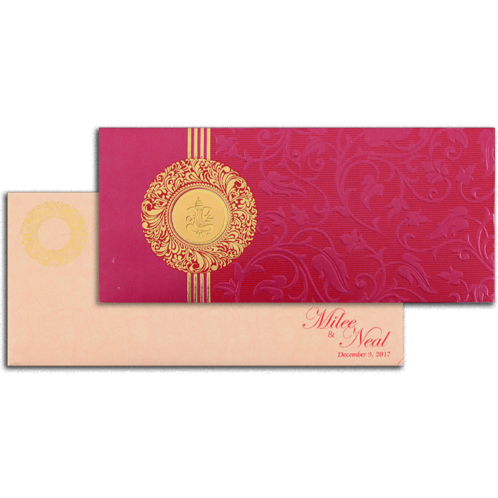 Designer Wedding Cards - DWC-14101