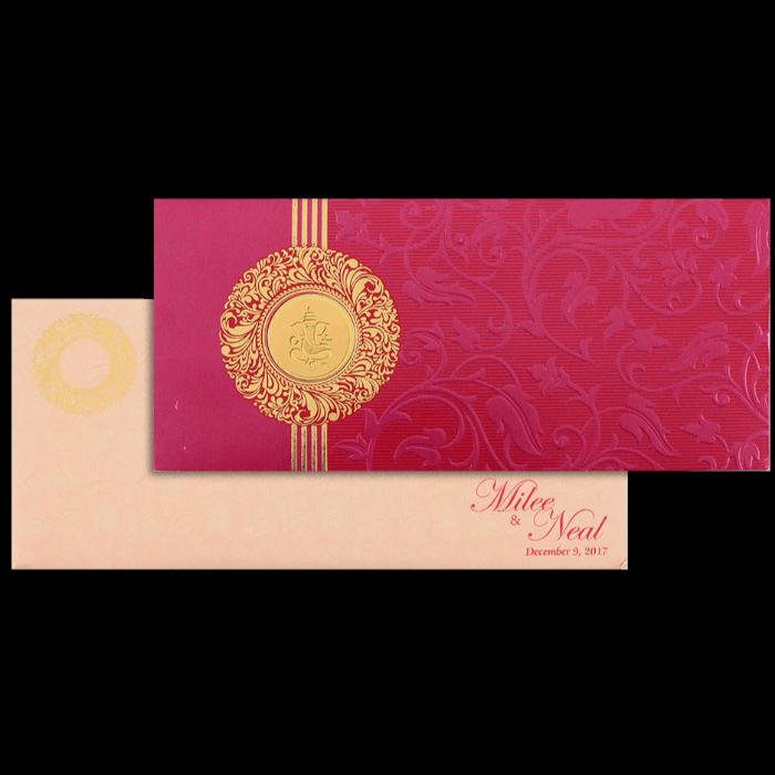 Designer Wedding Cards - DWC-14101