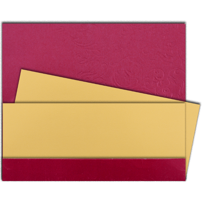 Designer Wedding Cards - DWC-14101 - 3