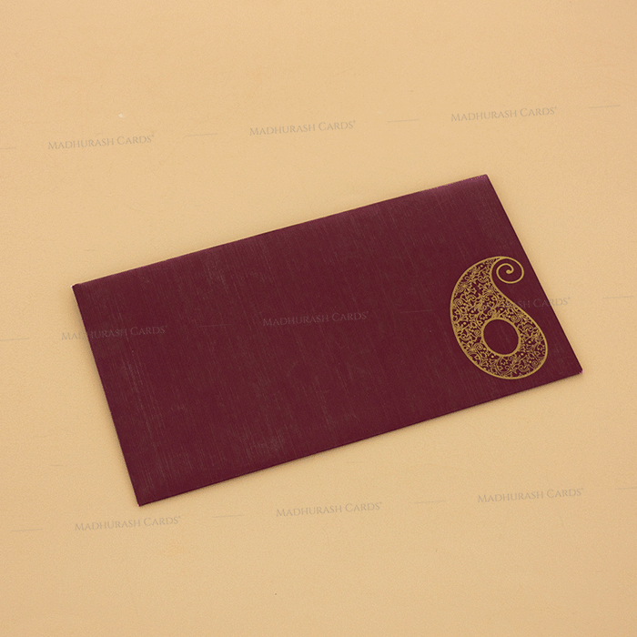 Hindu Wedding Cards - HWC-14111 - 3