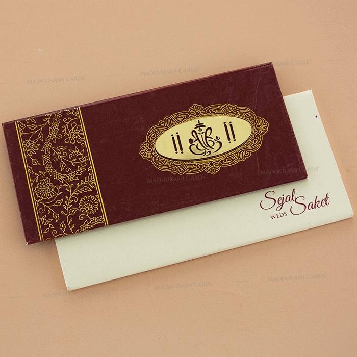 Hindu Wedding Cards - HWC-14116