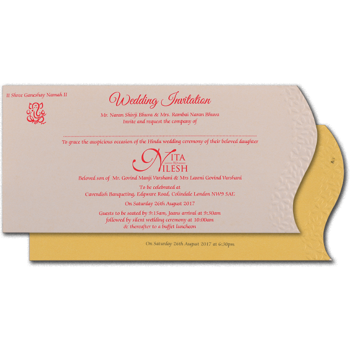 Sikh Wedding Cards - SWC-4091S - 3