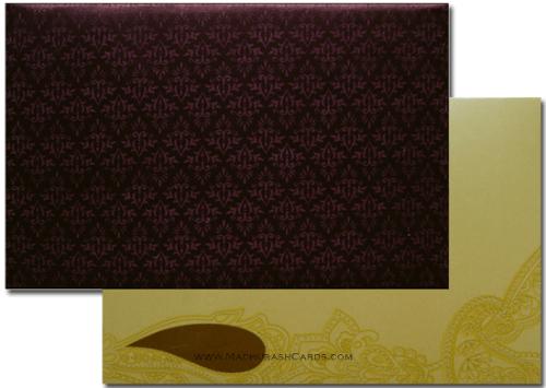 Sikh Wedding Cards - SWC-3305S - 3