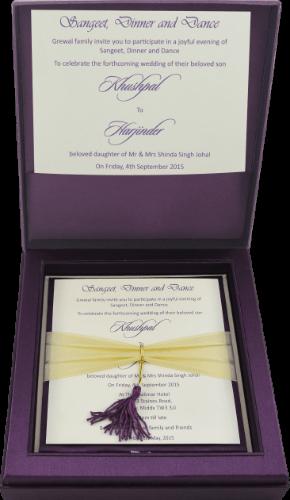 Luxury Wedding Cards - LWC-106V - 4