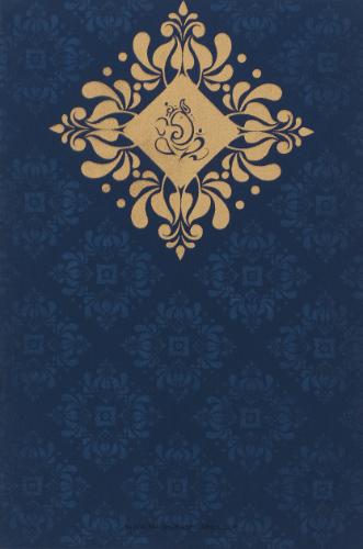 test Custom Wedding Cards - CZC-9034BG
