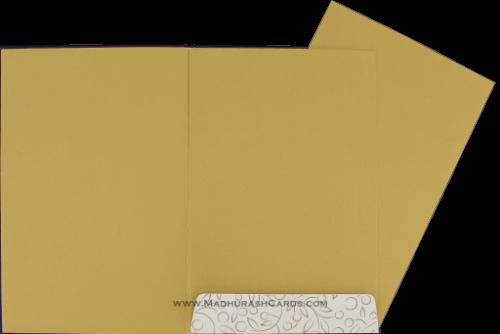 Custom Wedding Cards - CZC-9036BG - 4
