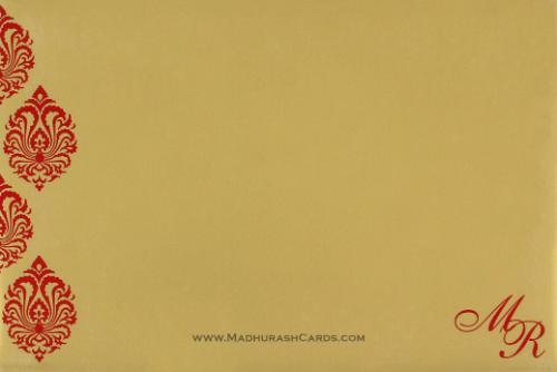 Custom Wedding Cards - CZC-9109CG - 3