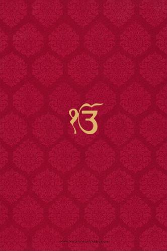 Sikh Wedding Cards - SWC-9024RCS
