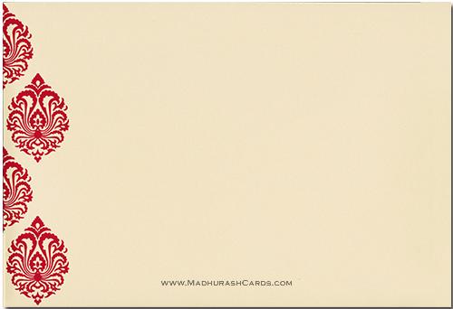 Sikh Wedding Cards - SWC-9029RCS - 3