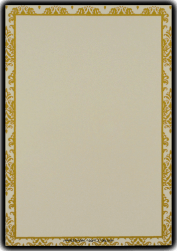 Sikh Wedding Cards - SWC-9047GCS - 4