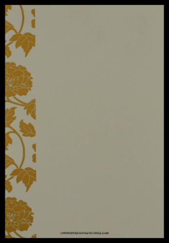 Sikh Wedding Cards - SWC-9048RWS - 4