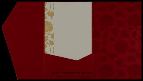 Sikh Wedding Cards - SWC-9048RWS - 5
