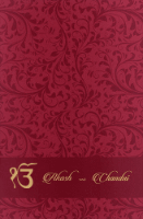 Sikh Wedding Cards - SWC-9068PPS