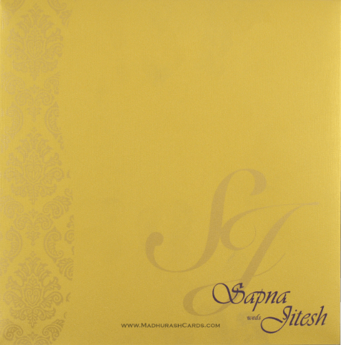 Sikh Wedding Cards - SWC-9033VGS - 3