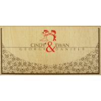 Custom Wedding Cards - CZC-9201
