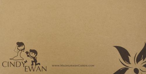 Custom Wedding Cards - CZC-9201 - 3