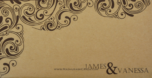 Custom Wedding Cards - CZC-9202 - 3